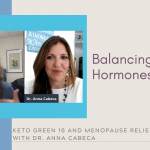 Balancing Hormones – Keto Green 16 and Menopause Relief with Dr. Anna Cabeca